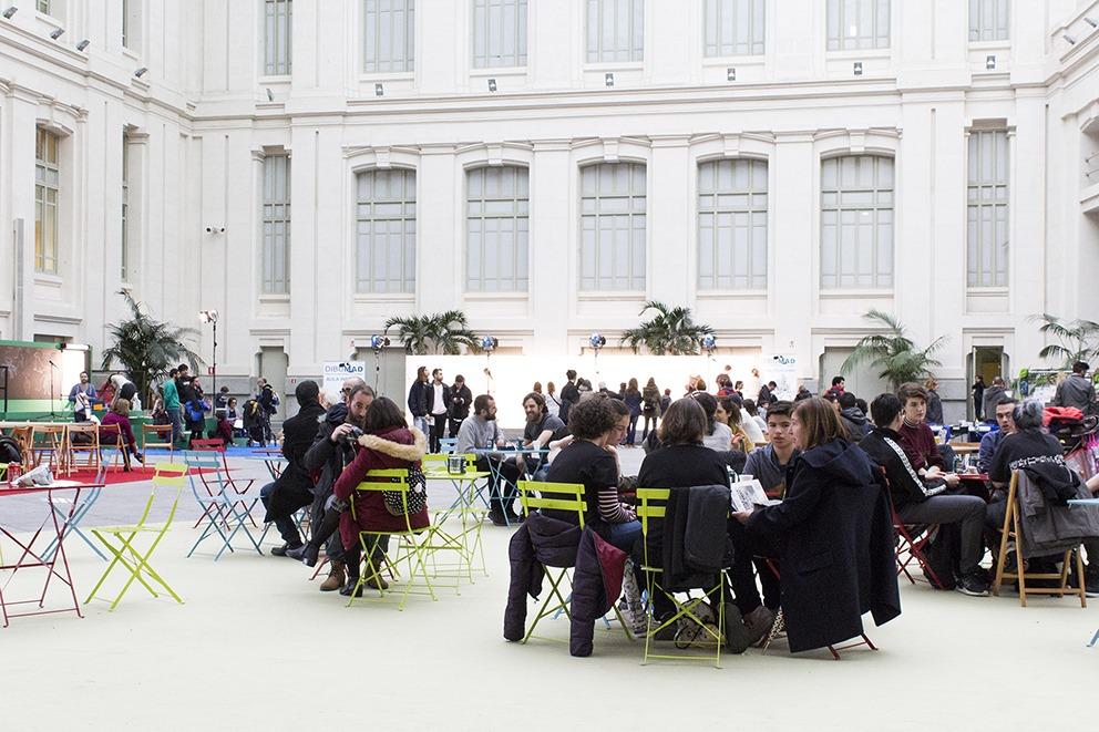 Dibumad 2018, ayuntamiento de Madrid, feria de ilustración