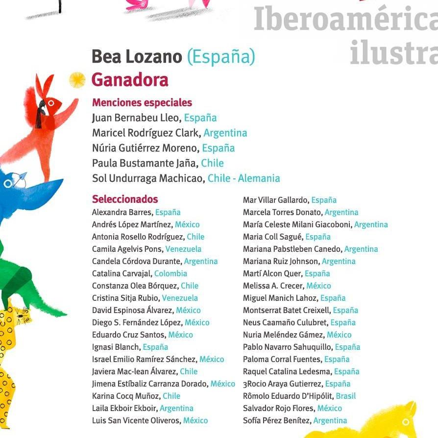 Catálogo iberoamericano de ilustración, iberoamérica ilustra, fundación SM, El Ilustradero, Concurso de ilustración,