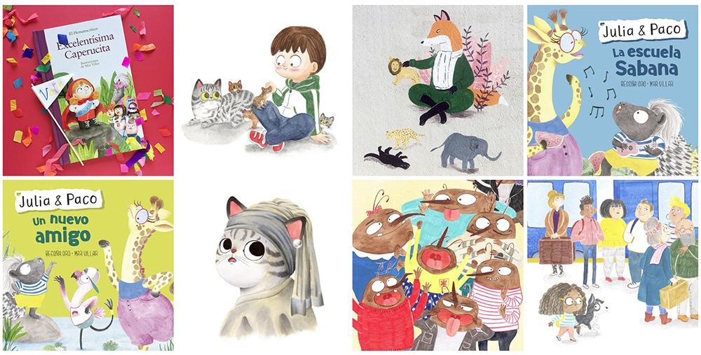 como crear un portfolio de ilustracion, portfolio ilustradora, portfolio online, consejos para crear un portfolio de ilustracion,