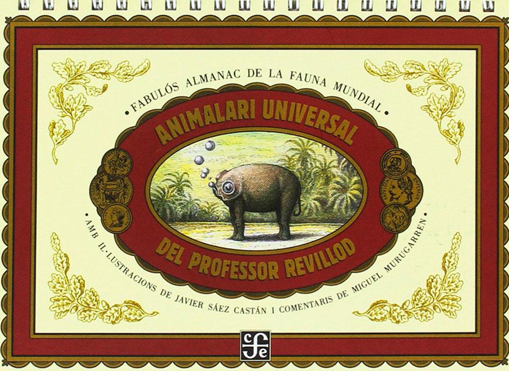 Javier Sáez Castán, Animalario Universal, álbum ilustrado, libros infantiles para regalar en Navidad,