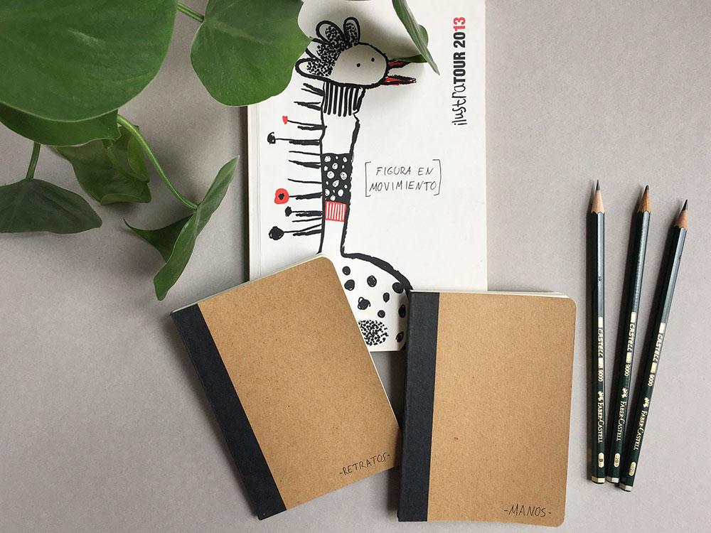 Cuadernos de dibujo, cuaderno de bocetos, dibujar manos, dibujar poses,