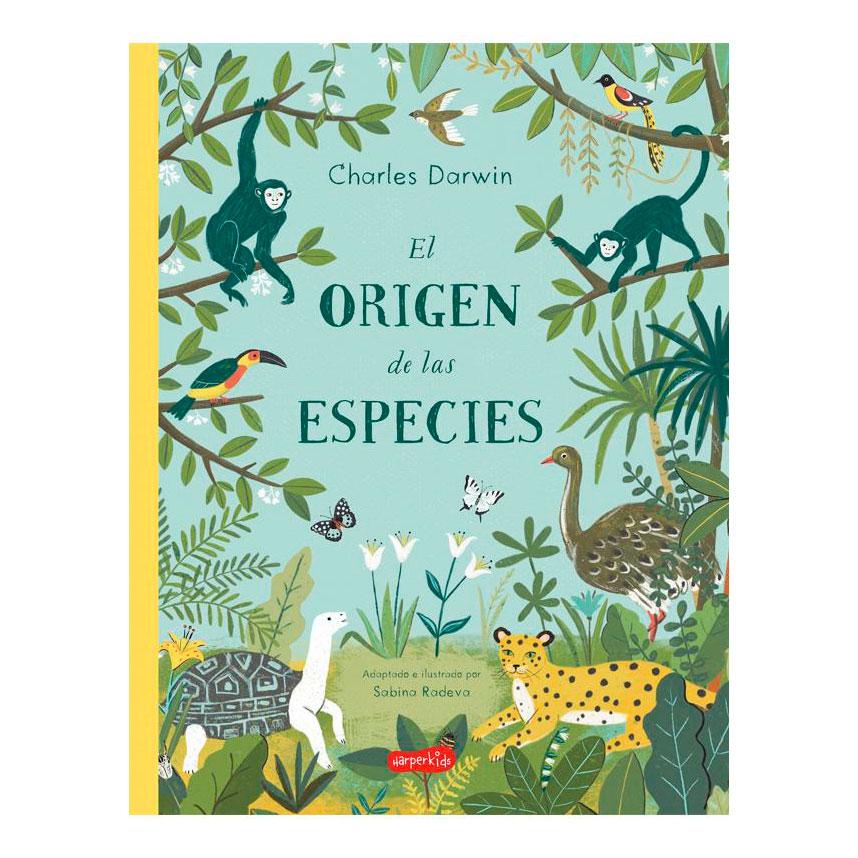 Sabina Radeva, el origen de las especies, Harper Kids, álbum ilustrado, libros infantiles para regalar en Navidad,