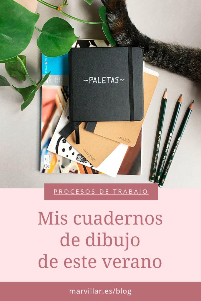 Cuadernos de dibujo, cuaderno de bocetos, cuaderno de ilustrador,