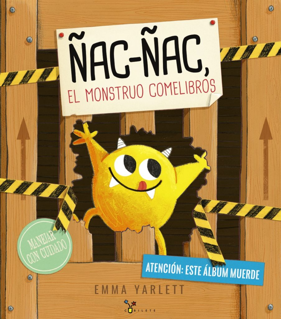 Emma Yarlett, Ñac-Ñac, Bruño, álbum ilustrado, libros infantiles para regalar en Navidad,