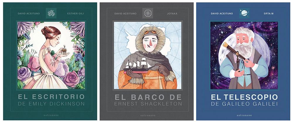 Ester Garcia, Jotaká, Srta. M, David Aceituno, Editorial Astronave, álbum ilustrado, libros infantiles para regalar en Navidad,