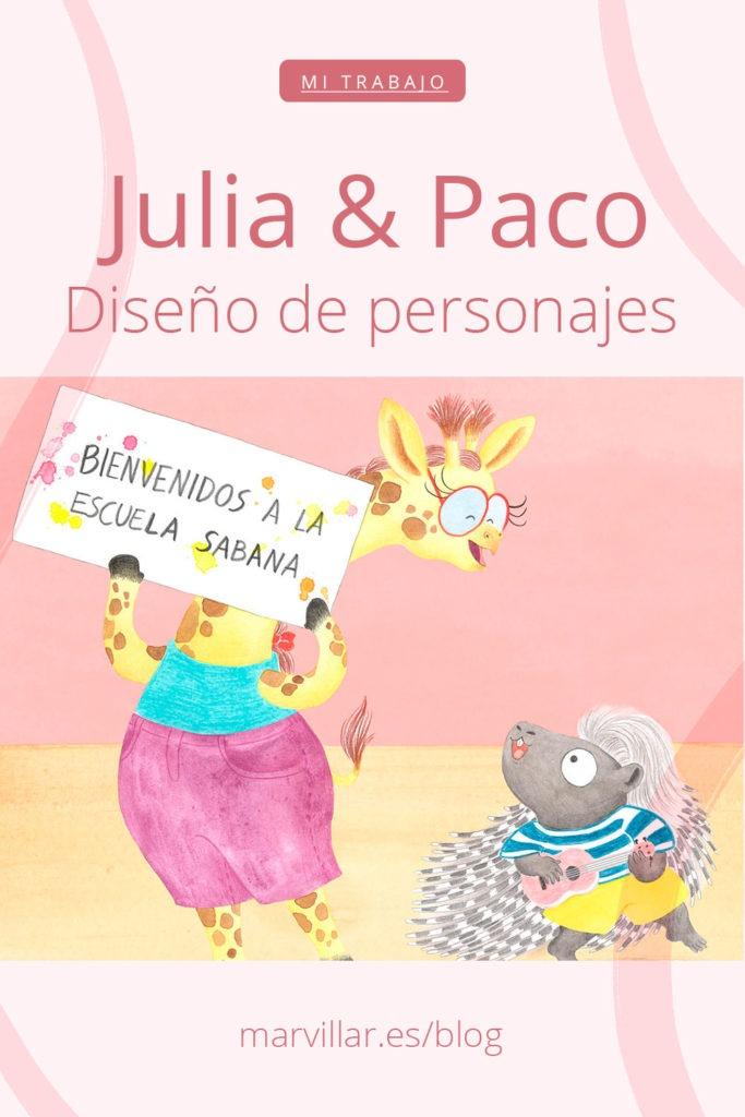 Julia y Paco,